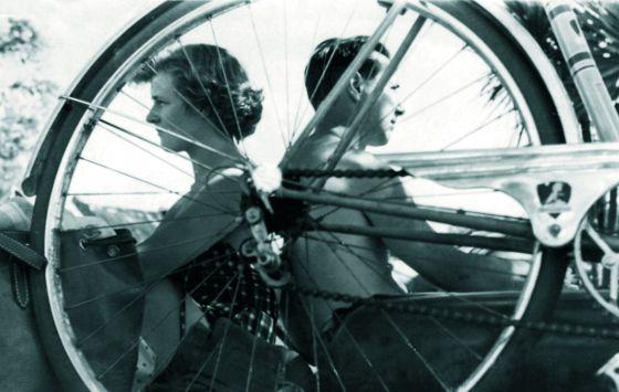 Betty Goode y Ángel Garma en una imagen en Argentina.