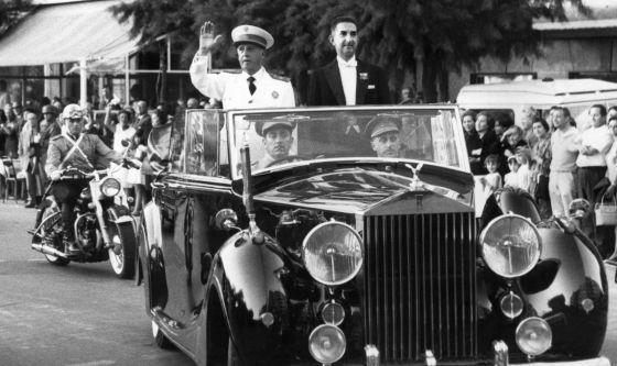 Franco, en una visita a San Sebastián en 1965, posterior al intento de atentar contra él en esa ciudad.