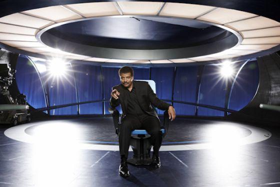 Neil deGrasse Tyson, en la serie 'Cosmos'
