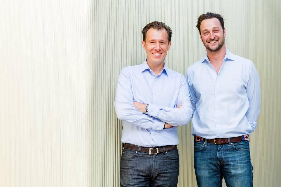 Timo Hahn y Matthias Dörner, cofundadores de WYDR.