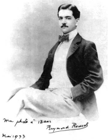 Imagen de Raymond Roussel en 1895.