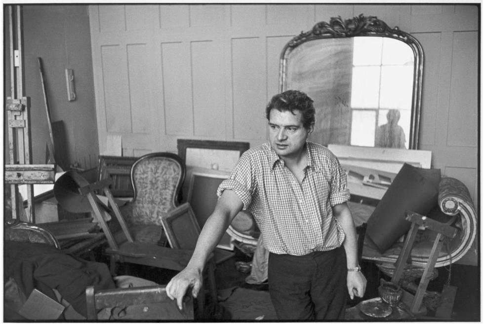 Francis Bacon, retratado en 1971.
