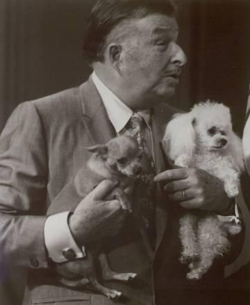 Xavier Cugat, en una imagen del documental.