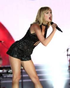 La cantante Taylor Swift, en un concierto en Austin (Texas), en octubre de 2016.