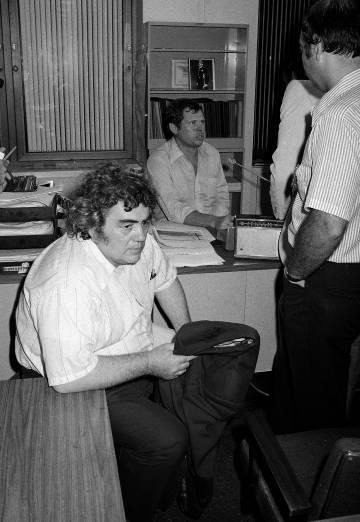 Jimmy Breslin en 1977.