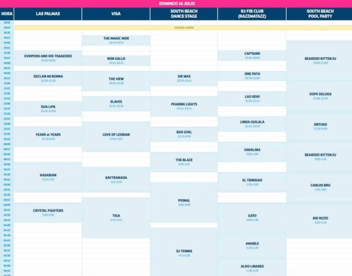 FIB 2017: cartel, entradas y horarios del festival de Benicàssim