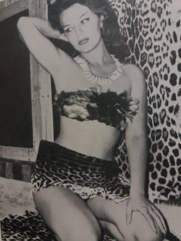 Pamela Hawkins, la Princesa Jaguar, retratada por Jane Dolinger.