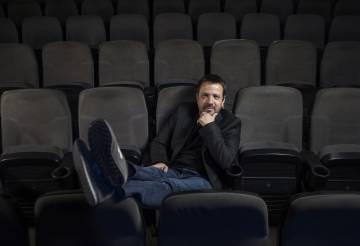 El director, Hugo Prata, antes de la inauguración del festival Novocine el 22 de noviembre en Madrid.
