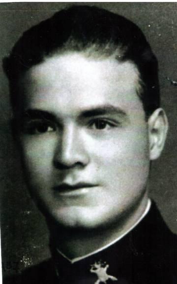 Retrato de Pablo Félix durante su estancia en el Colegio Militar