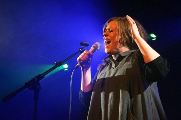 Adele, en un concierto en Texas, EE UU, en 2009.