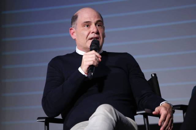 Matthew Weiner, durante la presentación de la serie en Londres.