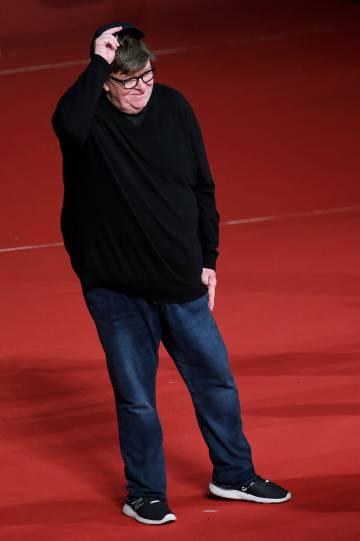 Michael Moore, en el festival de Roma el pasado 20 de octubre.
