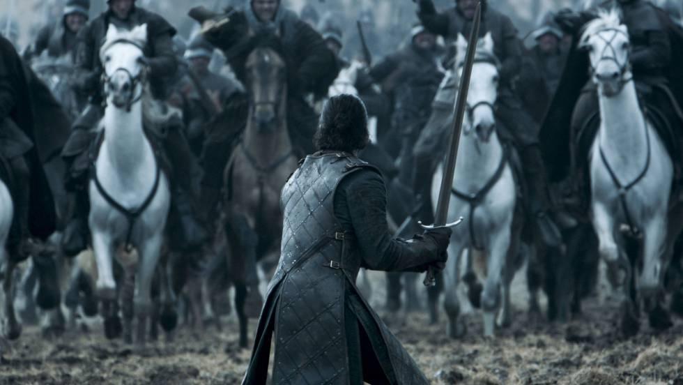 Una imagen del episodio 'La batalla de los bastardos'.