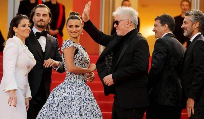 Almodóvar, el pasado mes de mayo en la presentación en Cannes de 'Dolor y gloria'.
