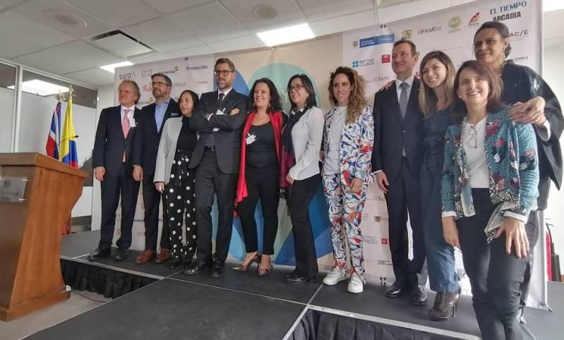 La presentación del Hay Festival este martes en Bogotá.