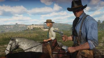A moment from 'Red Dead Redemption 2'.