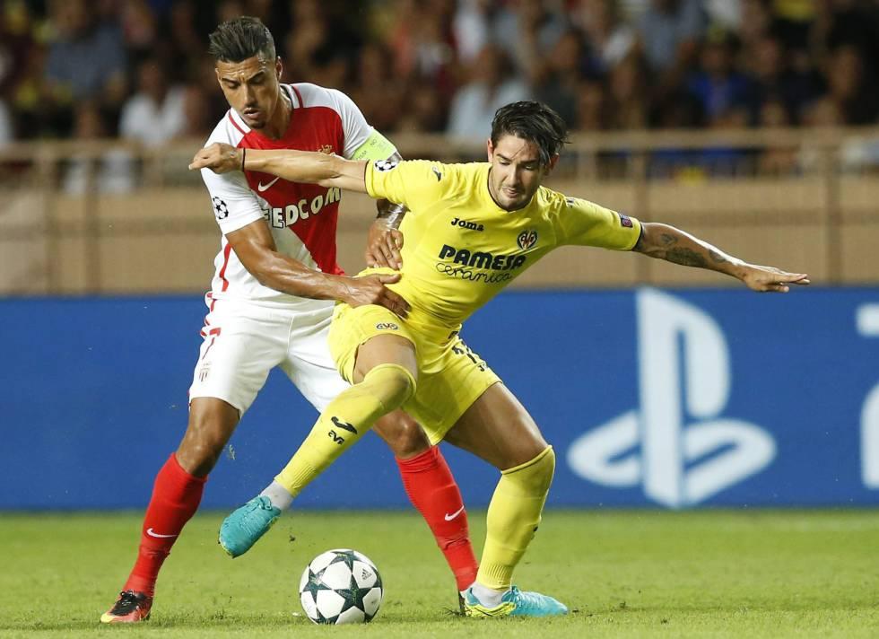 Alexandre Pato, en un partido del Villarreal contra el Mónaco.