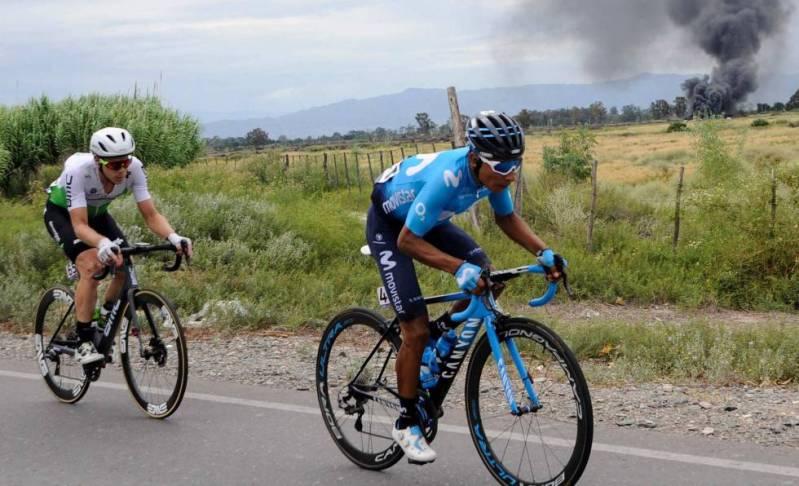 Nairo Quintana, en una competición.