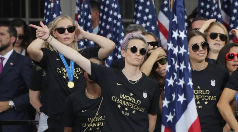 Nueva York celebra el triunfo y el activismo de la selección femenina USA de fútbol, campeona mundial