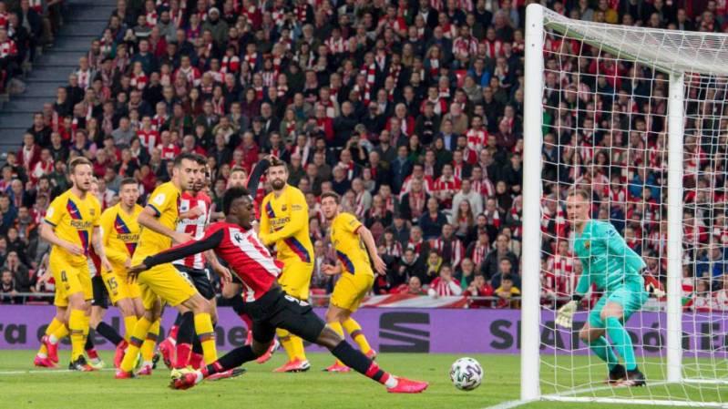 El Athletic derrota al Barça en el descuento | Deportes | EL PAÍS
