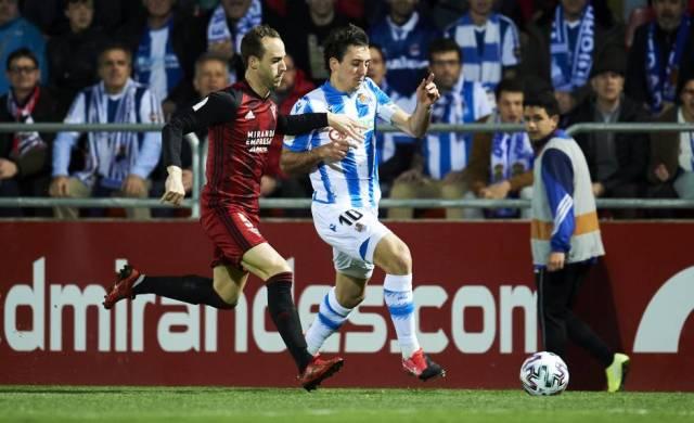 La Real se clasifica para final de la Copa del Rey tras batir al Mirandés  (0-1) | Deportes | EL PAÍS