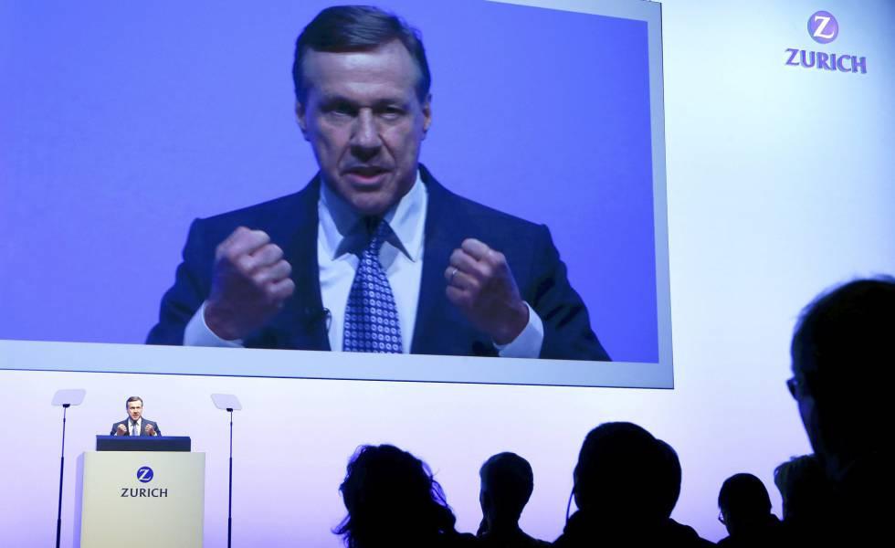 Martin Senn, exconsejero delegado del Grupo Zurich