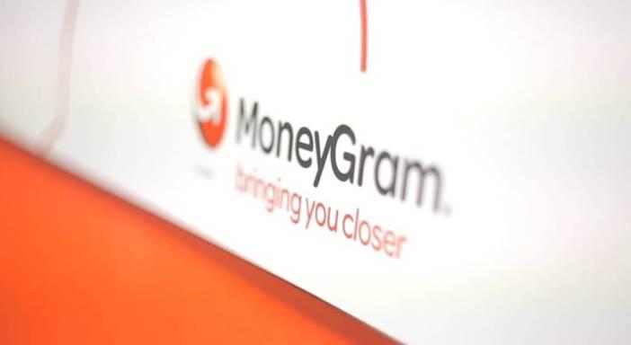 Logo de MoneyGram, una de las principales firmas de envío de remesas del mundo.