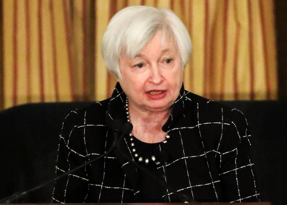 La presidenta de la Reserva Federal (Fed), Janet Yellen. EFEArchivo