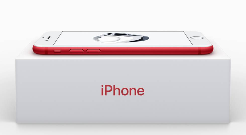 iPhone 7 Red.
