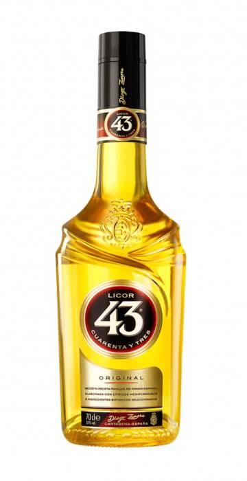 Una botella de Licor 43, el producto estrella de la marca.