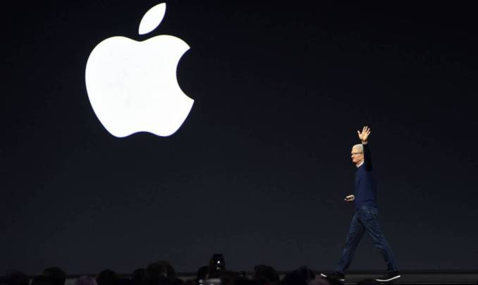 El CEO de Apple, Tim Cook, en California el pasado noviembre.