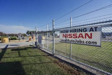 Fábrica de la japonesa Nissan, en Nashville, que busca personal.