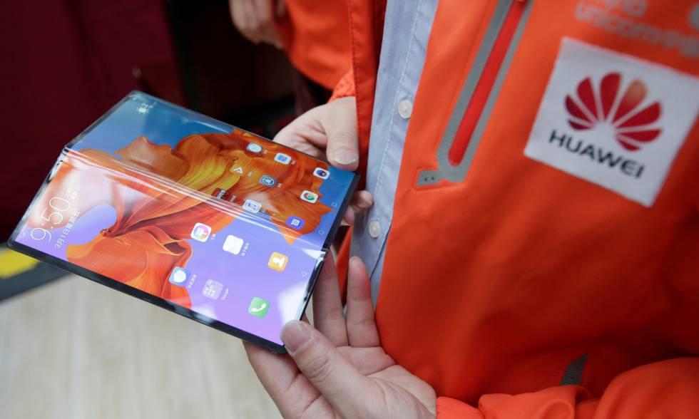 Nuevo Huawei Mate X. plegable y con 5G.