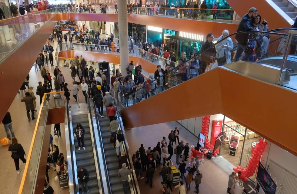 El centro comercial East Side en Berlín.
