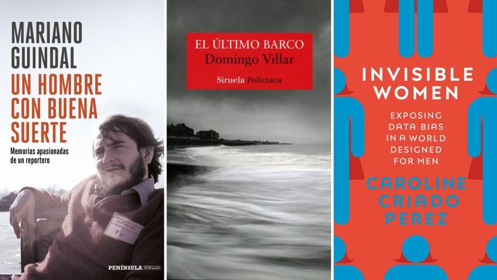 Libros recomendados por Luis de Guindos, Nadia Calviño y Margrethe Vestager.