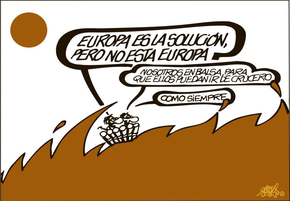 Resultado de imagen de europa viñetas