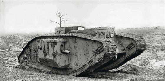 El empleo pionero de tanques resultó determinante enel desenlace de la contienda.