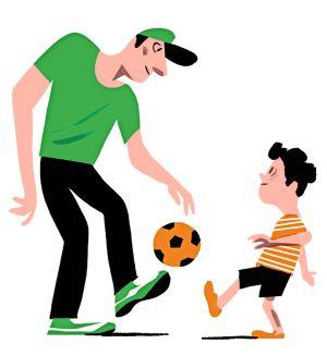 ¡Usted es su padre, no su entrenador!