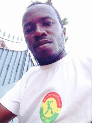 Le président de l'association des blogueurs de Guinée Conakry, Fodé Kouyaté Sanikayi.