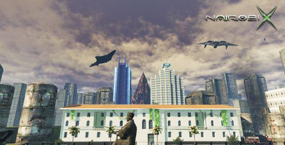 Los escenarios del juego que se corresponden con las calles de la capital de Kenia.