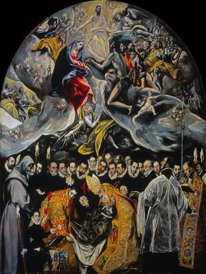 'El entierro del señor de Orgaz', de El Greco