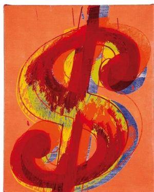 Dollar Sing de Andy Warhol.