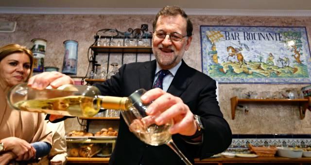 Rajoy en El Toboso.