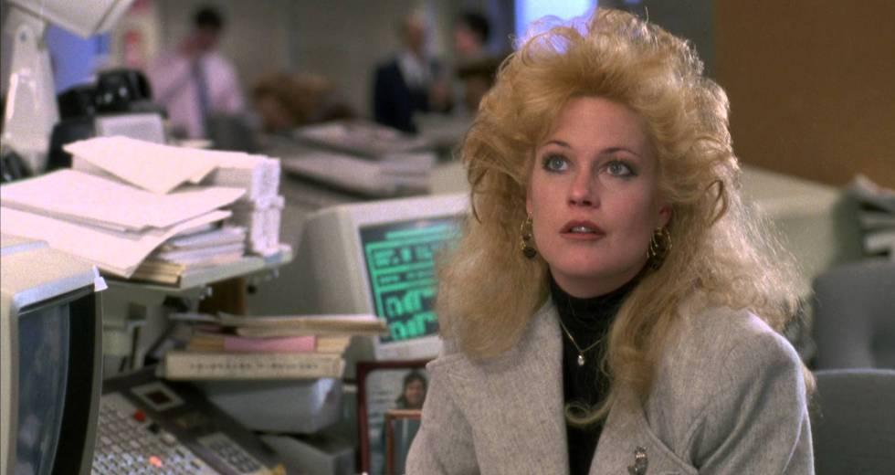 Melanie Griffith em 'Uma Secretária de Futuro' dá um conselho universal: trabalhe com mais humildade.