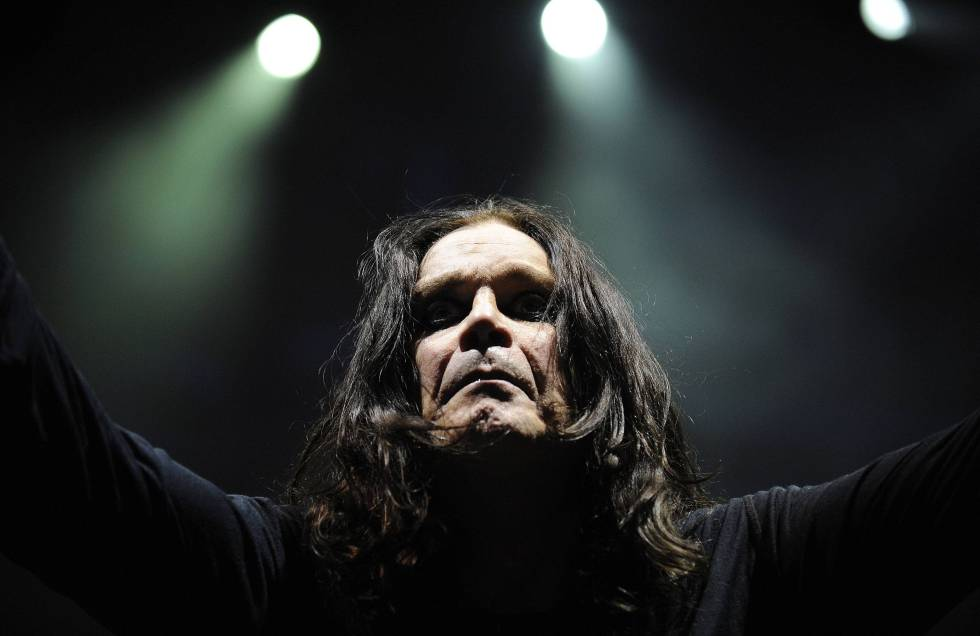 Ozzy Osbourne en un concierto de 2008 en Sidney, Australia.