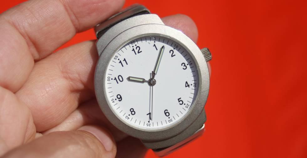 El reloj rige nuestras vidas.