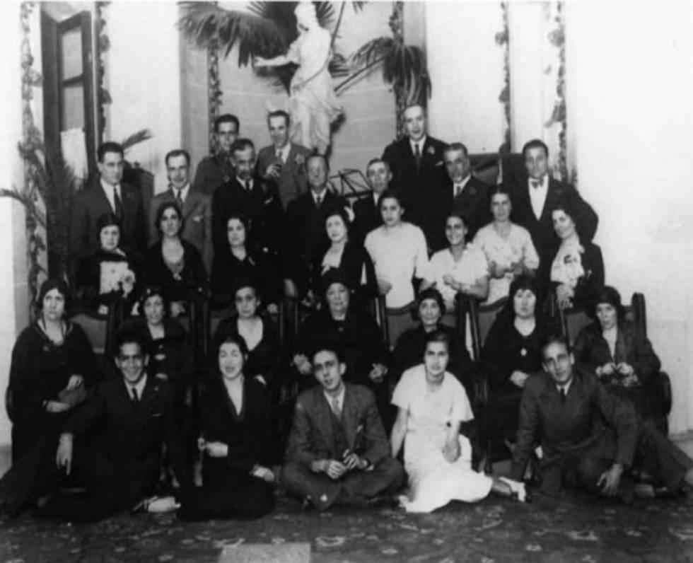 La familia Barnés Salinas.