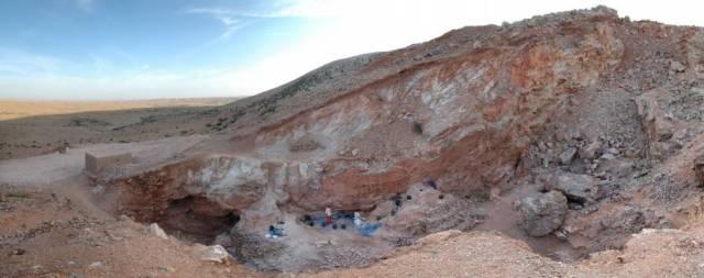 El yacimiento de Jebel Irhoud (Marruecos), nueva cuna de la humanidad.