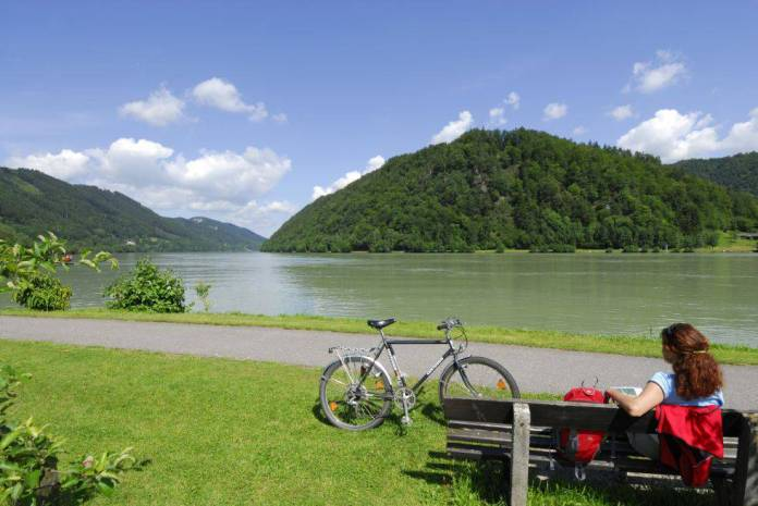 El Danubio entre Passau y Linz, en Austria.