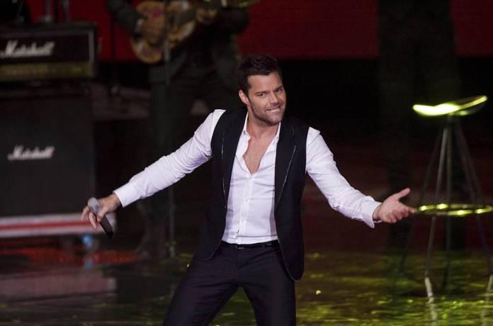 Ricky Martin, durante un concierto en México en 2010, el año en que declaró que es gay.
